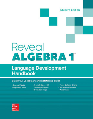 Reveal Algebra I, Language Development Handbook, Student Edition