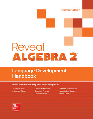 Reveal Algebra 2, Language Development Handbook, Student Edition