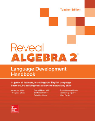 Reveal Algebra 2, Language Development Handbook, Teacher Edition