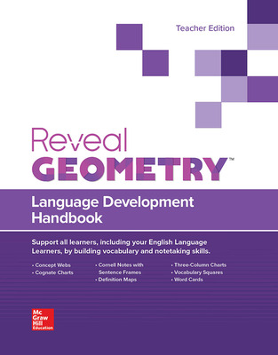 Reveal Geometry, Language Development Handbook, Teacher Edition