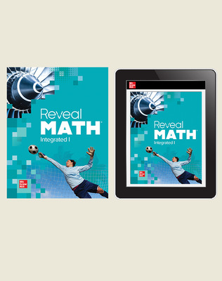 Reveal Math Integrated I, Student Bundle, 1-year subscription