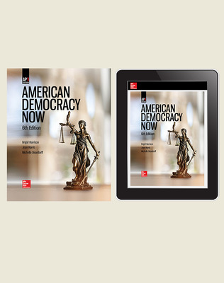 Harrison, American Democracy Now, 2019, 6e, Print and Digital Bundle (Student Edition with Online Student Edition), 1-year subscription