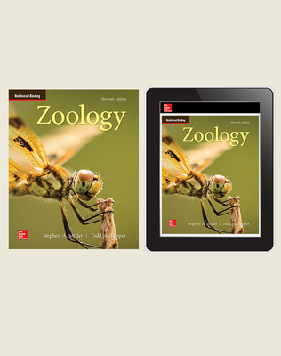 Miller, Zoology, 2019, 11e, Standard Student Bundle (Student Edition with Online Student Edition), 1-year subscription