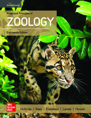 Integrated Principles of Zoology (Hickman) cover