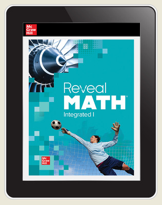Reveal Math Integrated I, Online Student, 3-year subscription
