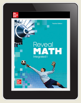 Reveal Math Integrated I, Online Teacher, 3-year subscription