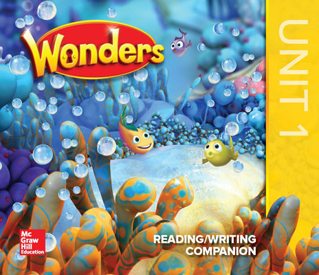 Wonders Kindergarten system with 10 year subscription Grade 1