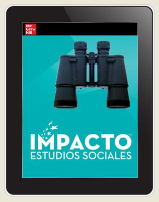 IMPACTO Social Studies, Explorar quiénes somos, Grade 2, Online Student Center, 1-year subscription
