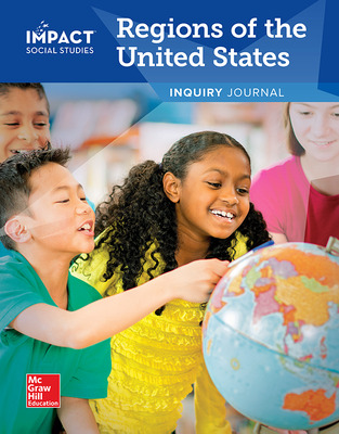 IMPACT Social Studies, Regions of the United States, Grade 4, Inquiry Journal