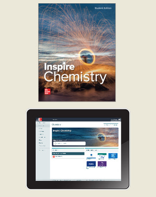 Inspire Science: Chemistry, G9-12 Comprehensive Student Class Set (70 eSE 35 print SE), 1-year subscription