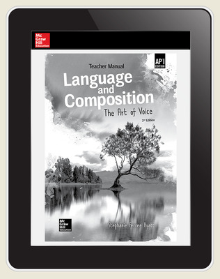 Muller, Language and Composition: The Art of Voice, 2019, 2e, (AP Ed), Digital Teacher Subscription, 1 year subscription