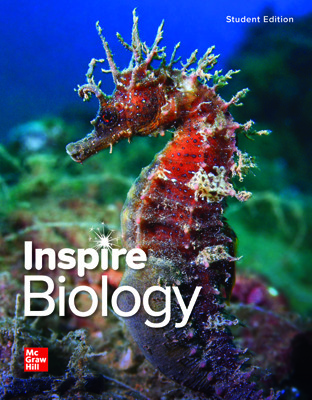 Inspire Science: Biology, G9-12 Comprehensive Digital & Print Student Class Set (70 eSE 35 print SE), 8-year subscription