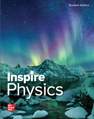Inspire Science: Physics, G9-12 Print Student Bundle, Class set of 35