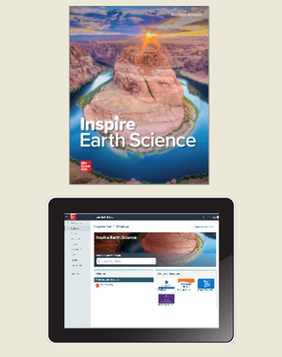 Inspire Science: Earth, G9-12 Comprehensive Student Class Set (70 eSE 35 print SE), 6-year subscription