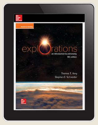 Arny, Explorations: An Introduction to Astronomy, 2020, 9e, Online Student Edition, 6 yr subscription