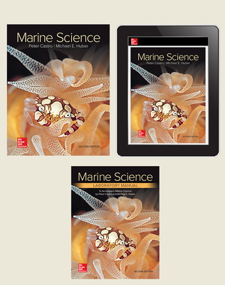 Castro, Marine Science, 2019, 2e, Premium Print Bundle (Student Edition with Lab Manual, Online Student Edition) 1-year subscription