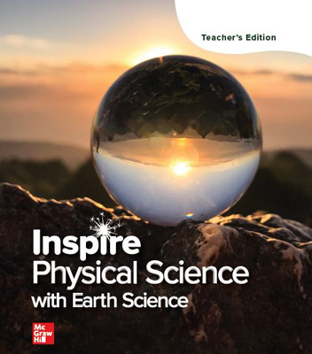 Inspire Physical Science with Earth: G9-12 Digital Teacher Center, 1 yr subscription