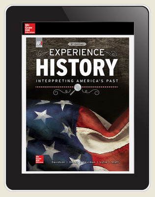 Davidson, Experience History, 2019, 9e, (AP Ed), Online Student Edition, 6-year subscription