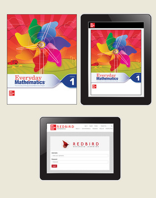 Everyday Math 4 Comprehensive Student Materials Set with Redbird, 1-Year, Grade 1