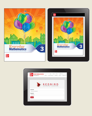 Everyday Math 4 Comprehensive Student Materials Set with Redbird, 1-Year, Grade 3