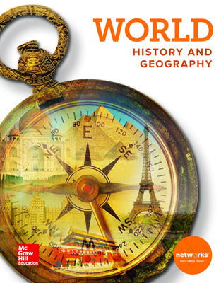 World History and Geography, Student Learning Center with Complete Inquiry Journal Bundle, 1-year subcription