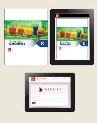 Everyday Math 4 Comprehensive Student Materials Set with Redbird, 6-Years, Grade K