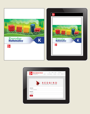Everyday Math 4 Essential Student Materials Set with Redbird, 1-Year, Grade K