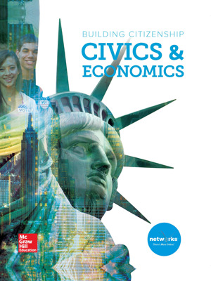 Building Citizenship: Civics and Economics, Student Learning Center with Complete Inquiry Journal and StudySync SyncBlasts Bundle, 6-year subcription