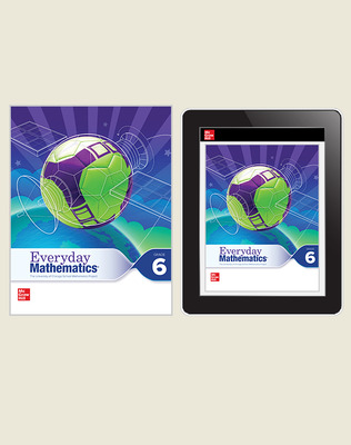 Everyday Math 4 Comprehensive Student Materials Set, 6-Years, Grade 6