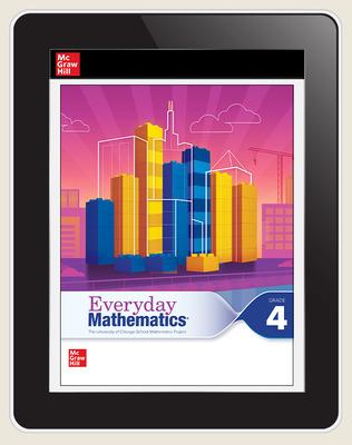 Everyday Mathematics 4 c2020 National Student Center Grade 4, 1-Year Subscription