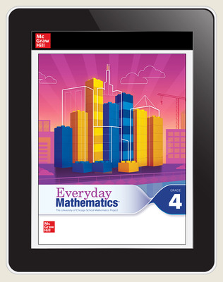 Everyday Mathematics 4 c2020 National Student Center Grade 4, 3-Year Subscription