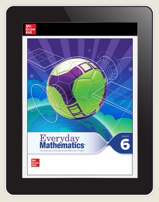 Everyday Mathematics 4 c2020 National Student Center Grade 6, 3-Year Subscription