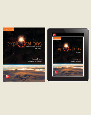 Arny, Explorations: An Introduction to Astronomy, 2020, 9e, Standard Student Bundle (Student Edition with Online Student Edition), 1-year subscription