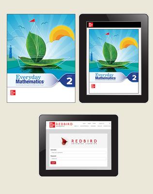 Everyday Math 4 Comprehensive Student Materials Set with Redbird, 5-Years, Grade 2