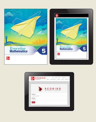 Everyday Math 4 Comprehensive Student Materials Set with Redbird, 5-Years, Grade 5