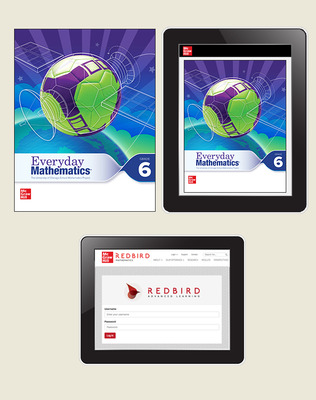 Everyday Math 4 Comprehensive Student Materials Set with Redbird, 5-Years, Grade 6