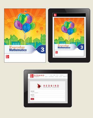 Everyday Math 4 Comprehensive Student Materials Set with Redbird, 7-Years, Grade 3