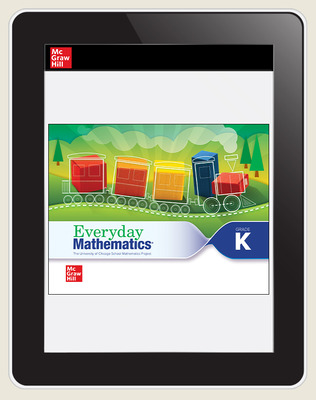 Everyday Mathematics 4 c2020 National Student Center Grade K, 1-Year Subscription