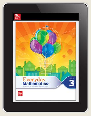 Everyday Mathematics 4 c2020 National Student Center Grade 3, 3-Year Subscription