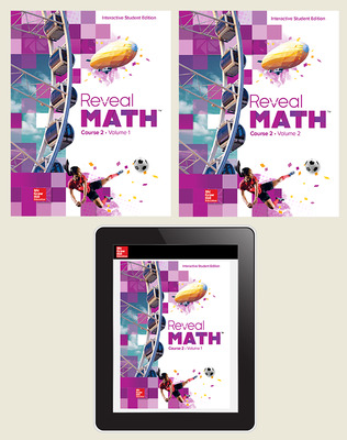 Reveal Math Course 2, Student Bundle, 6- year subscription