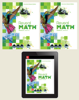 Reveal Math Course 3, Student Bundle, 6- year subscription