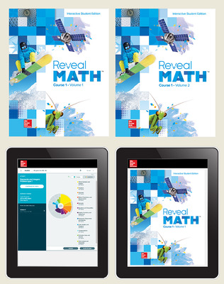 Reveal Math Course 1, Student Bundle with ALEKS, 6- year subscription