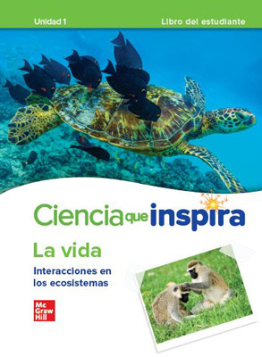 California Inspire Science: Life G7 Comprehensive SPANISH Student Bundle 2-year subscription