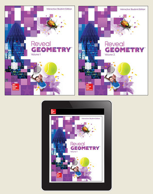 Reveal Geometry, Student Bundle, 1-year subscription