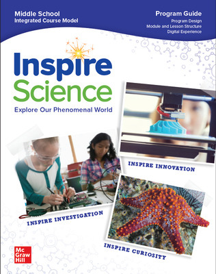 Inspire Science: G6-8 ELP Program Guide, A Teacher's Tour