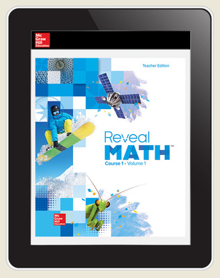Reveal Math Course 1, Teacher Digital License, 6-year subscription