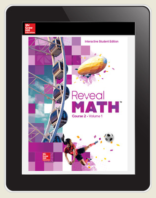 Reveal Math Course 2, Student Digital License, 6-year subscription