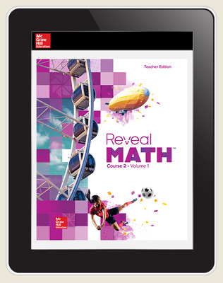 Reveal Math Course 2, Teacher Digital License, 6-year subscription