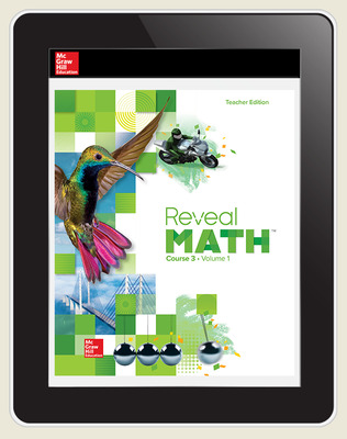 Reveal Math Course 3, Teacher Digital License, 6-year subscription