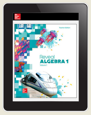 Reveal Algebra 1, Teacher Digital License, 6-year subscription